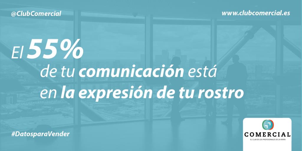 El 55% de tu comunicación reside en la expresión de tu rostro